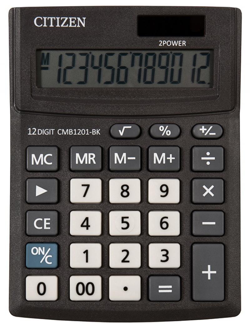 Kalkulator biurowy CITIZEN CMB1201-BK Business Line, 12 ...