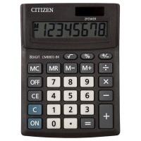 Kalkulator biurowy CITIZEN CMB801-BK Business Line, 8-cyfrowy, 137x102mm, czarny, Kalkulatory, Urządzenia i maszyny biurowe
