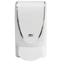 Dozownik mydła w pianie DEB Proline Chrome Border, 1000ml, biały, Mydła i dozowniki, Artykuły higieniczne i dozowniki