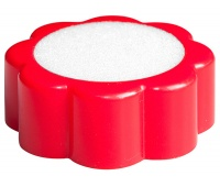 Sponge Finger Water Damper OFFICE PRODUCTS, red