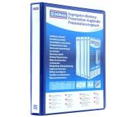 Segregator ofertowy DONAU, PP, A4/4RD/20, niebieski, Segregatory ringowe, Archiwizacja dokumentów