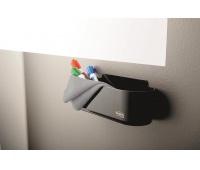 Koszyk na akcesoria POST-ITt® Dry Erase (DEFTRAY-EU), czarny, Przyborniki na biurko, Drobne akcesoria biurowe