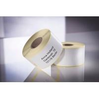 Etykiety uniwersalne Avery Zweckform w rolce do drukarek termicznych; 1000etyk./1rolka; 32 x 57 mm, usuwalne, białe, Etykiety w rolce do termodruku, Etykiety