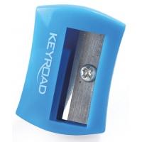 Temperówka KEYROAD Cute, plastikowa, pojedyńcza, tuba, mix kolorów, Temperówki, Artykuły do pisania i korygowania
