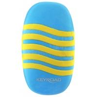 Gumka uniwersalna KEYROAD Wave, display, mix kolorów, Plastyka, Artykuły szkolne
