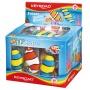 Gumka uniwersalna KEYROAD Caribic Wonder, display, mix kolorów, Plastyka, Artykuły szkolne