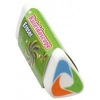 Gumka uniwersalna KEYROAD Kaleidoscope, trójkątna, display, mix kolorów, Plastyka, Artykuły szkolne