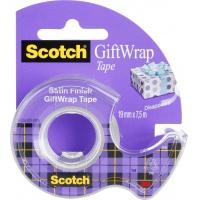 Scotch® GiftWrap Tape on hand held dispenser 19mm x 7.5m