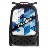 PLECAK NIKIDOMROLLER COOL BLUE XL, Plecaki, Do szkoły