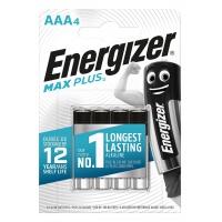 Bateria ENERGIZER Max Plus, AAA, LR03, 1,5V, 4szt., Baterie, Urządzenia i maszyny biurowe