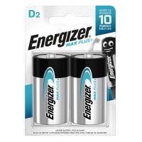 Bateria ENERGIZER Max Plus, D, LR20, 1,5V, 2szt., Baterie, Urządzenia i maszyny biurowe