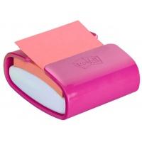 Podajnik do bloczków samoprzylepnych POST-IT® Pro (PRO-C-1SSC), fioletowy, w zestawie 1 bloczek Super Sticky Z-Notes, Bloczki samoprzylepne, Papier i etykiety