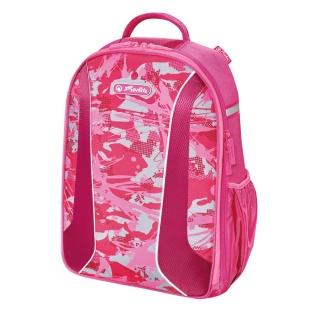 PLECAK BE.BAG AIRGO CAMOUFLAGE GIRL HERLITZ, Tornistry i plecaki, Do szkoły