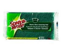 Gąbka do zmywania SCOTCH BRITE, uniwersalna, do garnków i patelni, zielona, Akcesoria do sprzątania, Artykuły higieniczne i dozowniki