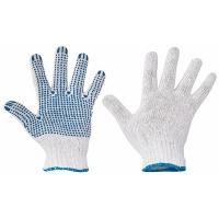 Rękawice Plover, montażowe, rozm. 9, biało-niebieskie, Rękawice, Ochrona indywidualna