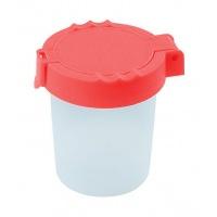 Kubeczek do wody GIMBOO, z blokadą wylania, 150ml, mix kolorów, Plastyka, Artykuły szkolne