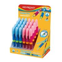 Pióro wieczne KEYROAD SMOOZZY Writer, M, pakowany na displayu, mix kolorów, Pióra, Artykuły do pisania i korygowania