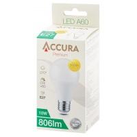 Żarówka LED ACCURA Premium, bańka, E27, 10W, Żarówki, Urządzenia i maszyny biurowe