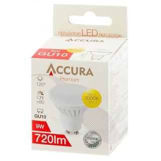Żarówka LED ACCURA PowerLight, GU10, 9W, Żarówki, Urządzenia i maszyny biurowe