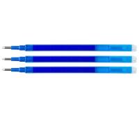 Wkład do długopisu wymazywalnego Q-CONNECT, 1,0mm, 3szt., zawieszka, niebieski, Długopisy, Artykuły do pisania i korygowania