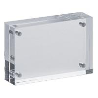 Ramka na zdjęcia MAUL, akrylowa, 75x50x20mm, transparentna, Antyramy, ramki, Prezentacja