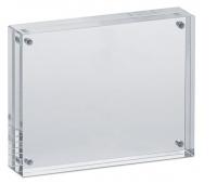 Ramka na zdjęcia MAUL, akrylowa, 115x90x24mm, transparentna, Antyramy, ramki, Prezentacja