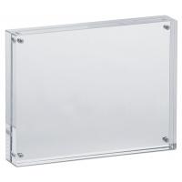 Ramka na zdjęcia MAUL, akrylowa, 178x127x30mm, transparentna, Antyramy, ramki, Prezentacja