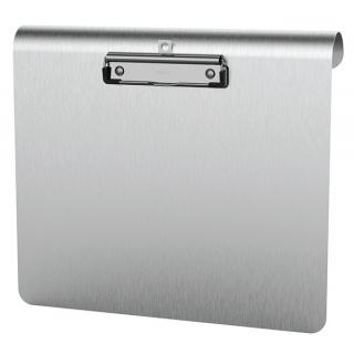 Clipboard medyczny MAUL deska, metalowy, A4, z klipsem, poziomy, srebrny, Clipboardy, Archiwizacja dokumentów