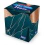 Chusteczki kosmetyczne celulozowe VELVET Cube Style, 3-warstwowe, 60 listków, biały, Ręczniki papierowe i dozowniki, Artykuły higieniczne i dozowniki