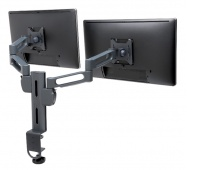 Ramię na dwa monitory KENSINGTON SmartFit™, czarny, Ergonomia, Akcesoria komputerowe