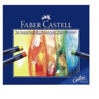 CREATIVE STUDIO PASTELE OLEJNE 24 KOL. OPAKOWANIE KARTON FABER-CASTELL, Pastele, Artystyczne