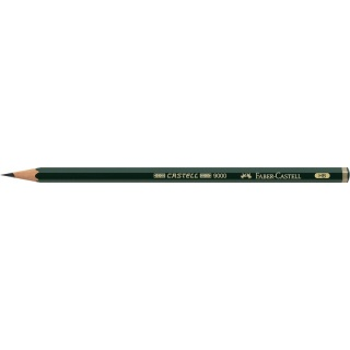 OŁÓWEK CASTELL 9000/HB FABER-CASTELL, Ołówki, Artystyczne