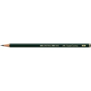 OŁÓWEK CASTELL 9000/B FABER-CASTELL, Ołówki, Artystyczne