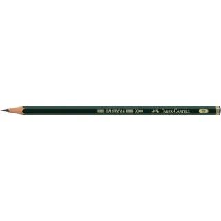 OŁÓWEK CASTELL 9000/2B FABER-CASTELL, Ołówki, Artystyczne