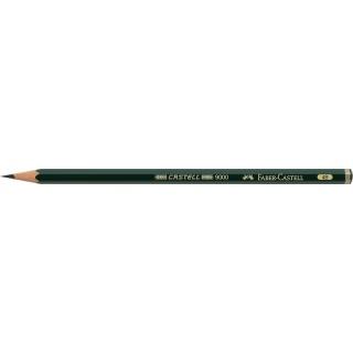 OŁÓWEK CASTELL 9000/4B FABER-CASTELL, Ołówki, Artystyczne