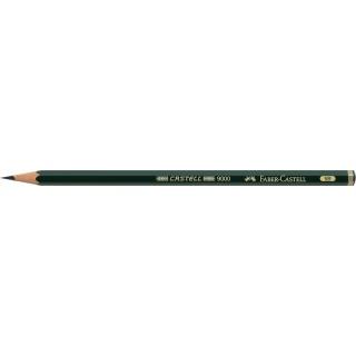 OŁÓWEK CASTELL 9000/5B FABER-CASTELL, Ołówki, Artystyczne