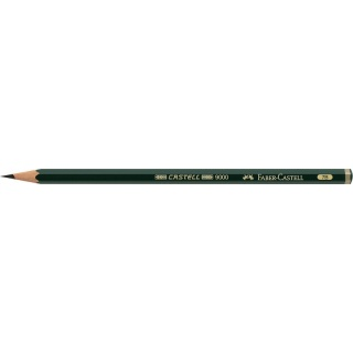 OŁÓWEK CASTELL 9000/7B FABER-CASTELL, Ołówki, Artystyczne