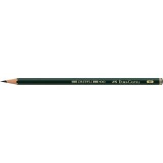 OŁÓWEK CASTELL 9000/8B FABER-CASTELL, Ołówki, Artystyczne