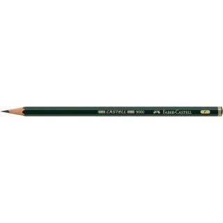 OŁÓWEK CASTELL 9000/F FABER-CASTELL, Ołówki, Artystyczne