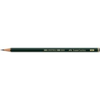 OŁÓWEK CASTELL 9000/2H FABER-CASTELL, Ołówki, Artystyczne