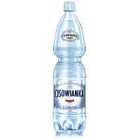 Woda CISOWIANKA, gazowana, butelka plastikowa, 1,5l, Woda, Artykuły spożywcze