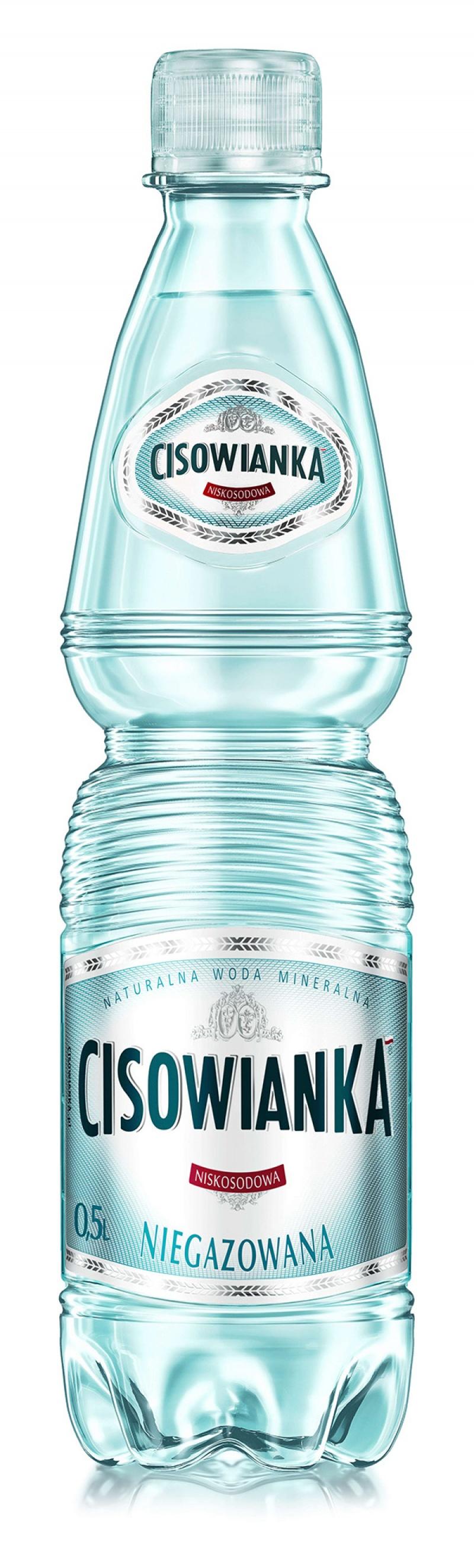 Woda CISOWIANKA, niegazowana, butelka plastikowa, 0,5l, Woda, Artykuły spożywcze