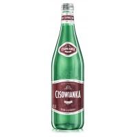 Woda CISOWIANKA, silnie gazowana, butelka szklana, 0,7l, Woda, Artykuły spożywcze