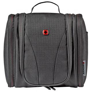 Kosmetyczka podróżna WENGER, 100x240x230mm, czarna, Torby, teczki i plecaki, Akcesoria komputerowe