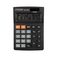 Kalkulator biurowy CITIZEN SDC-022SR, 10-cyfrowy, 127x88mm, czarny, Kalkulatory, Urządzenia i maszyny biurowe