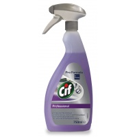 CIF Diversey 2in1, cleaning disinfectant, concentrated, 750ml