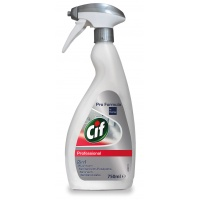 Preparat CIF Diversey 2w1, do mycia sanitariatów i łazienek, 750ml, Środki czyszczące, Artykuły higieniczne i dozowniki