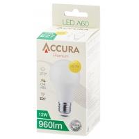 Żarówka LED ACCURA Premium, bańka, E27, 12W, Żarówki, Urządzenia i maszyny biurowe