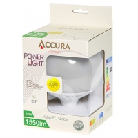 Żarówka LED ACCURA PowerLight, bańka, E27,8W, Żarówki, Urządzenia i maszyny biurowe