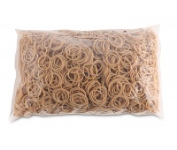 Rubber Bands OFFICE PRODUCTS, diameter 25mm, 1,5x1,5mm, 1000g, natural
